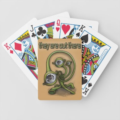 They are out there bicycle playing cards