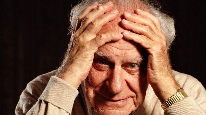 El filósofo austriaco Karl Popper