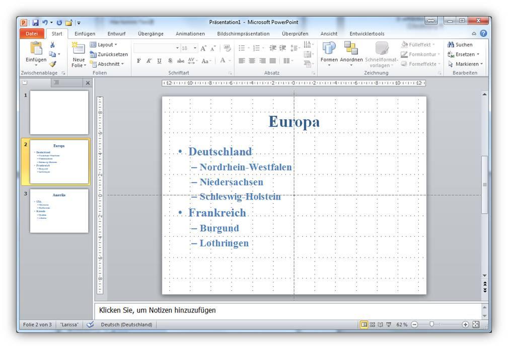 PowerPoint-Präsentationen aus Word-Dokument erstellen | IT ...