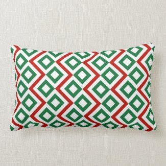 Christmas Meander Pillow