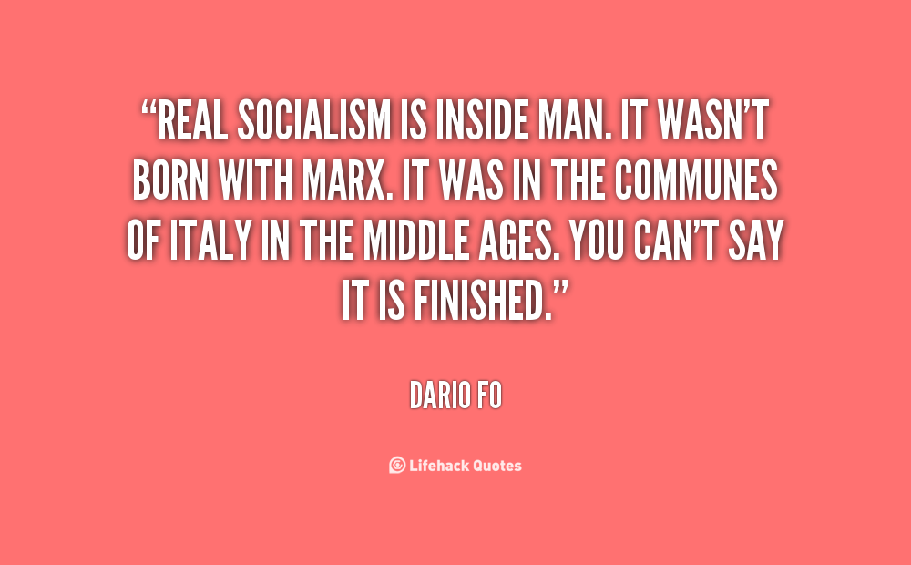 Socialist Quotes. QuotesGram