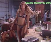 Susana Werner sensual em biquini na novela um anjo caiu do céu
