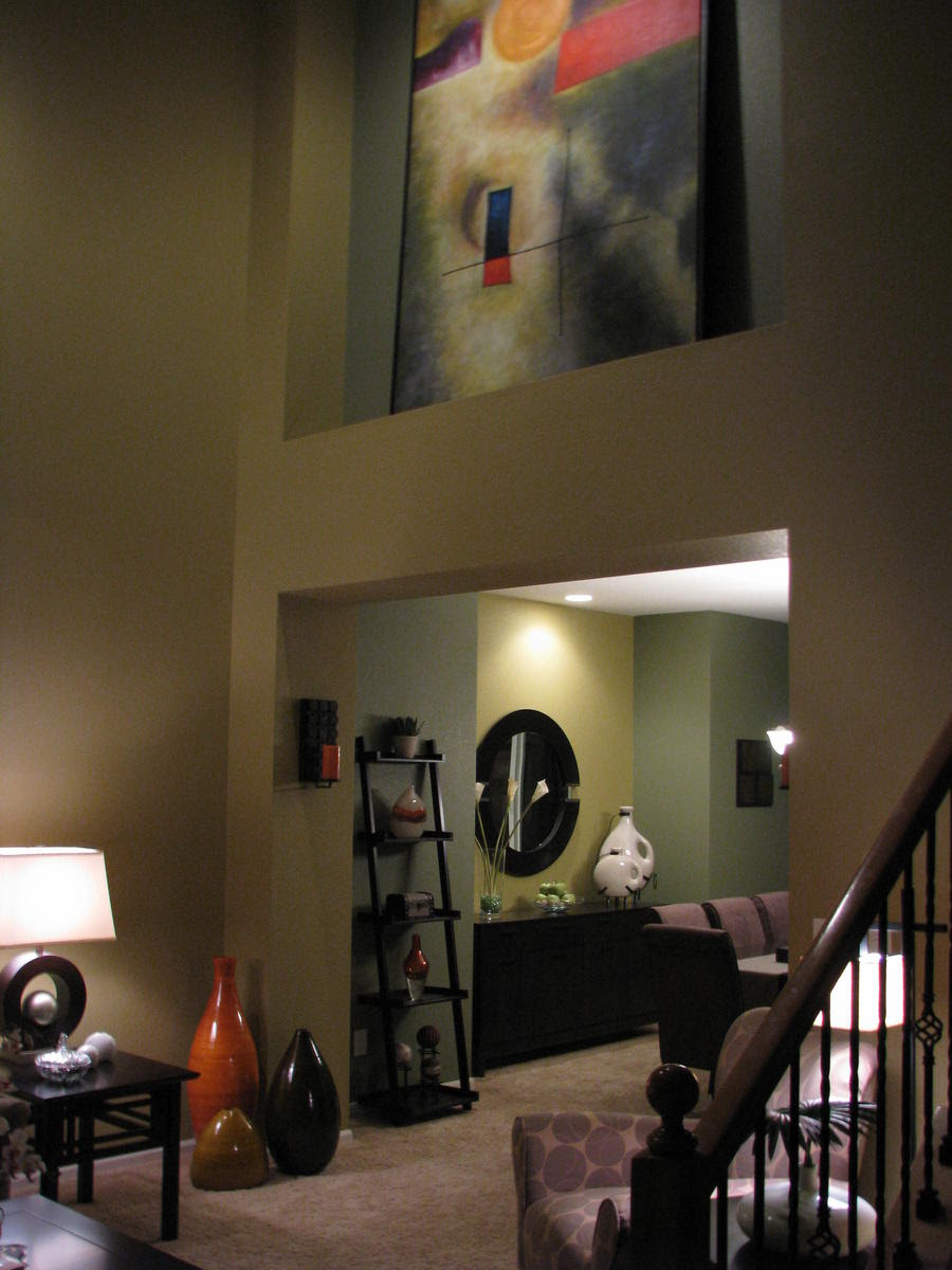 Suggestion for Entry/Formal Living Room (paint, colors, door ...