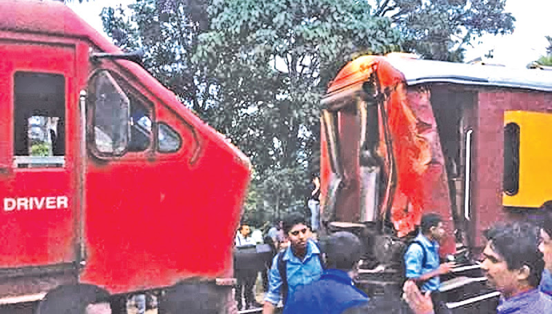 FOUR INTERDICTED AFTER TRAIN MISHAP