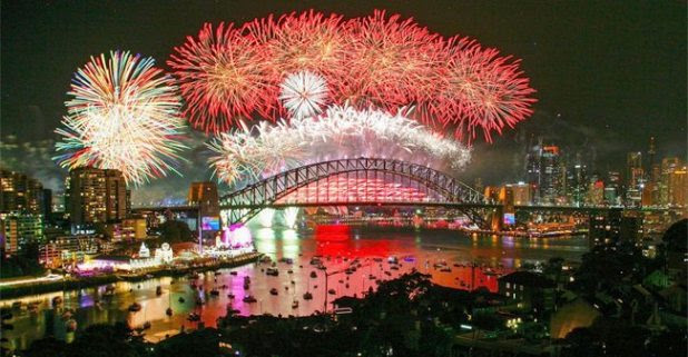 From US To UK, New's Year Eve Celebration Around The World Is Simply Mermerising