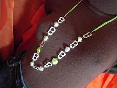 Pop tab necklace (Orquidea) Tags: competition recycling reciclagem anilhas lacres poptabs takenbyorqudeapires handmadebyorqudeapires criatividadeemmovimento