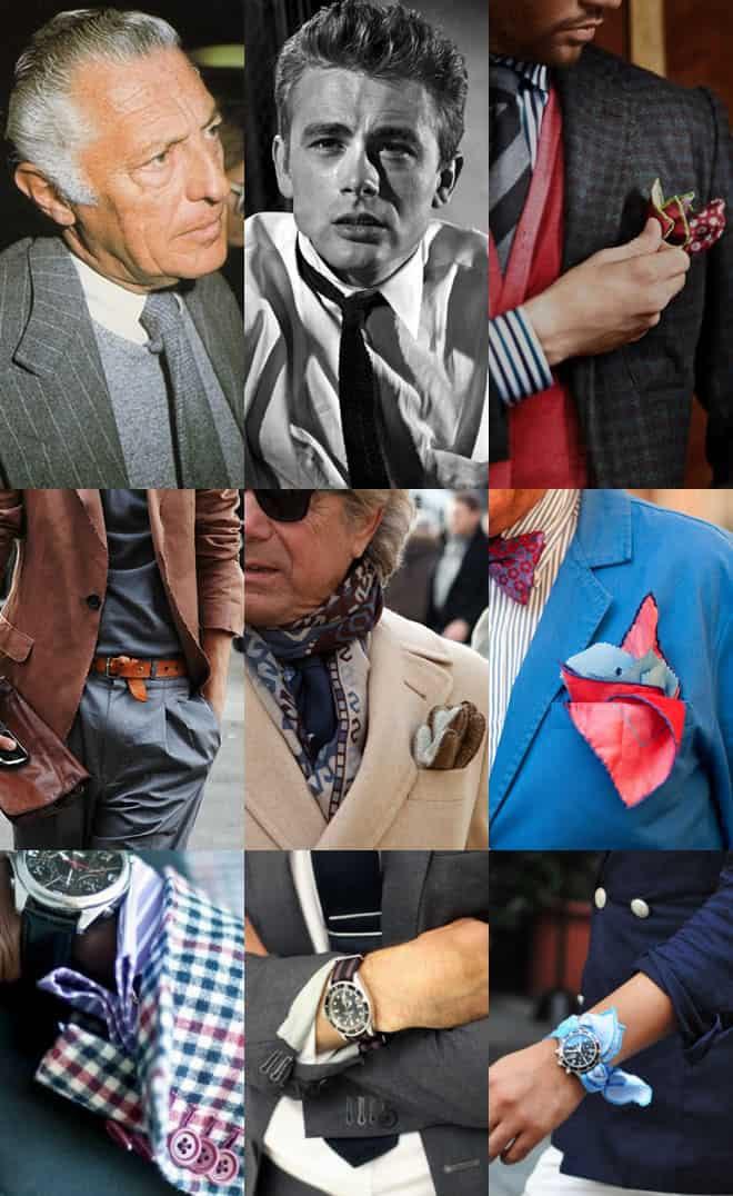Mens Sprezzatura Details Lookbook