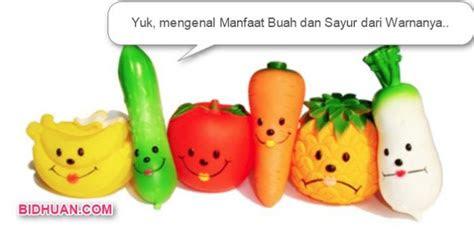 kenali beragam manfaat buah  sayur berdasarkan warnanya
