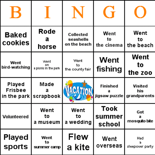 bingo is a great first day of school ice breaker activity use the ...