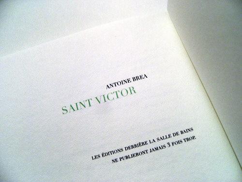 Saint Victor (inside)
