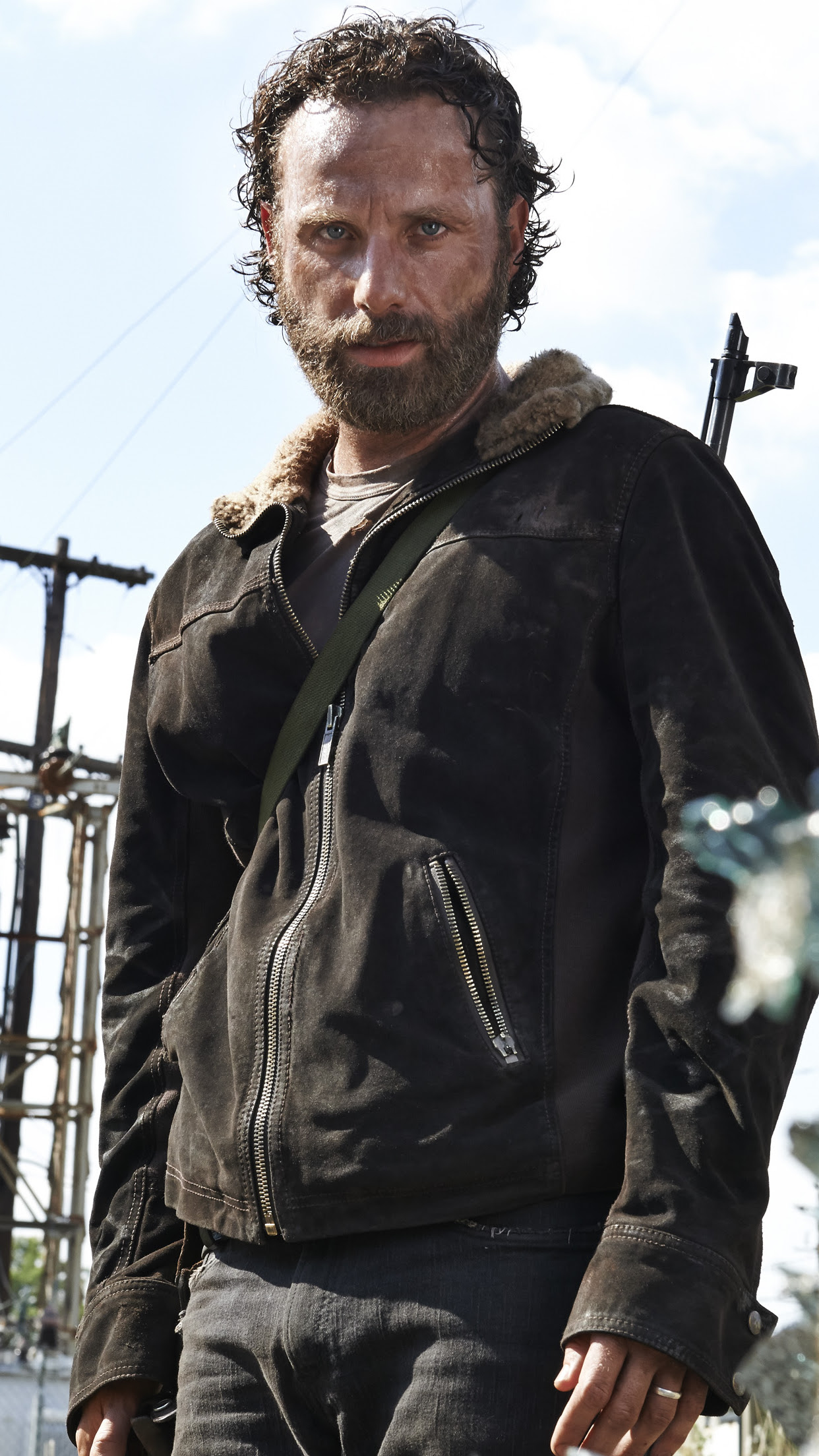 The Walking Dead Rick Wallpaper For Iphone 11 Pro Max X 8 7 6