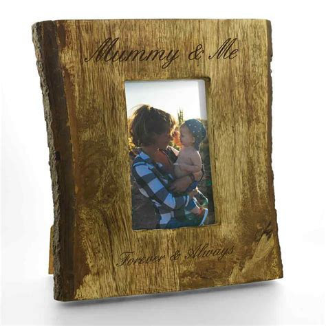 Personalised Rustic 6 x 4 Photo Frame
