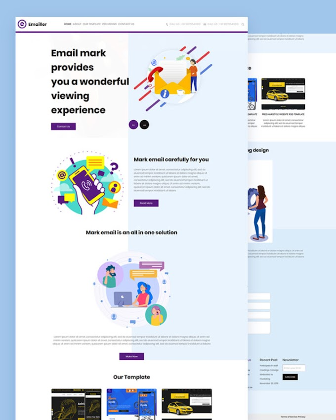 Emailler – Email HTML Template