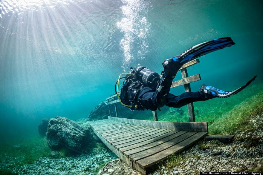 cool-bridge-underwater-swimming