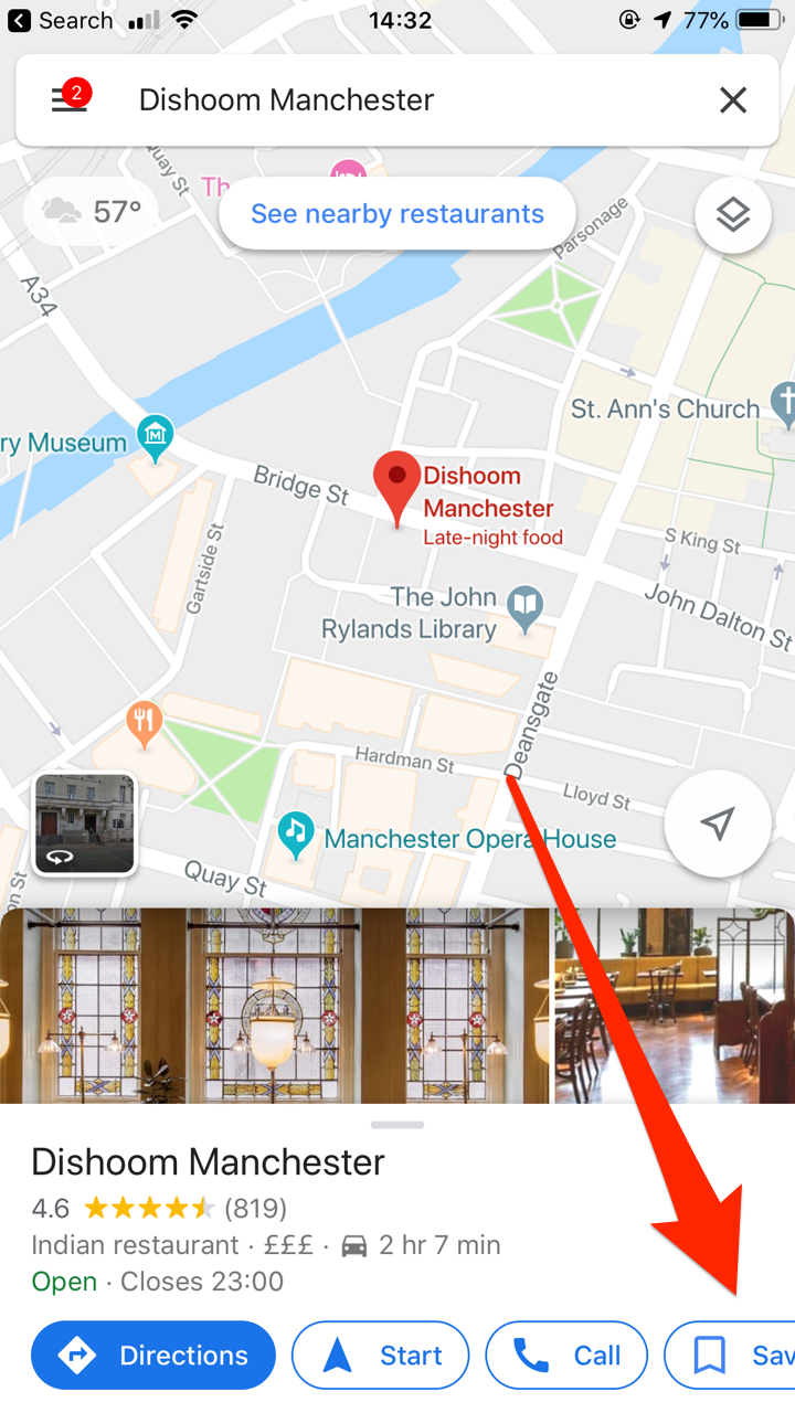 How To Save A Location On Google Maps On Your Computer Or