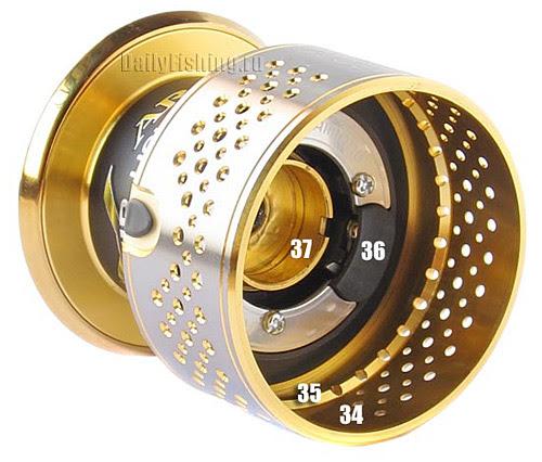 shimano 10 stella spool inside