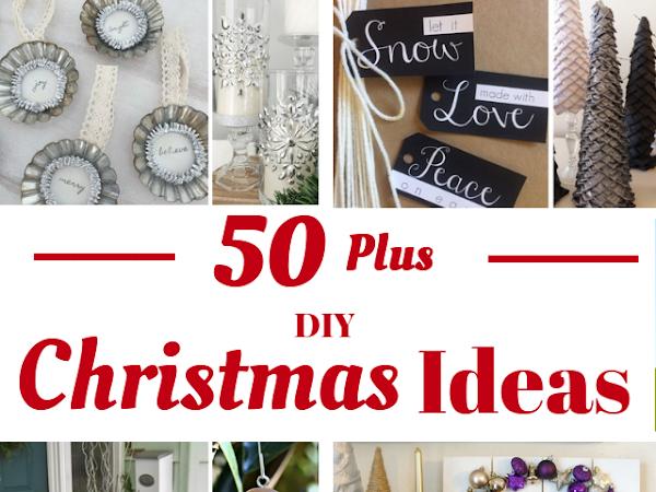 Over 50 DIY Christmas Ideas - 12 Days Of Christmas 2018