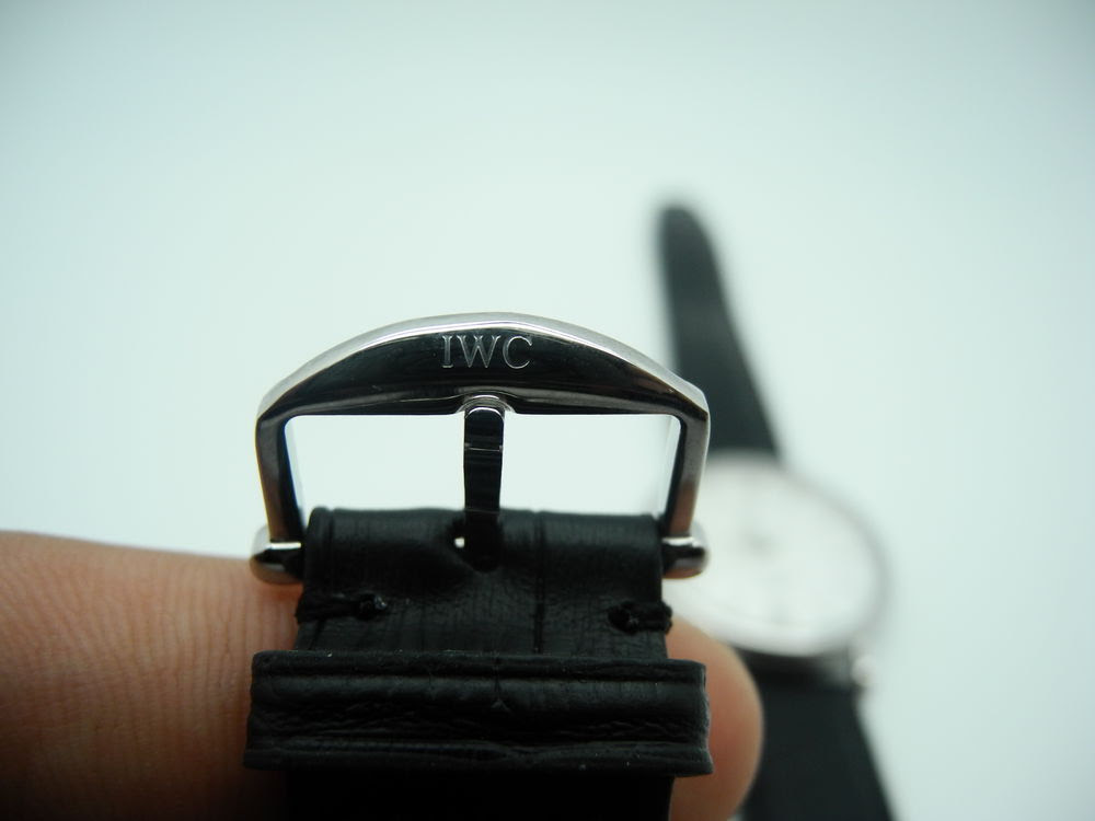 IWC Clasp Engraving on MK