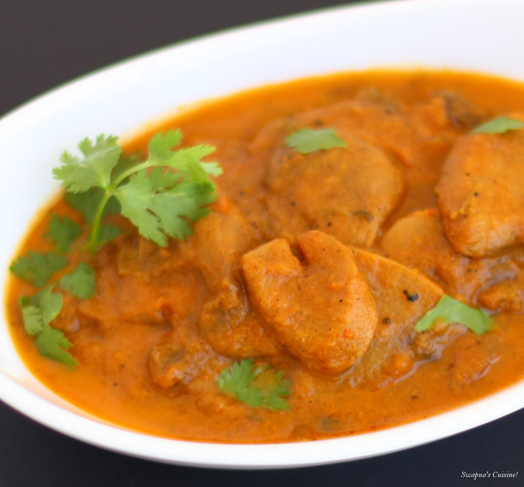 Khumb Masala / Mushroom Masala