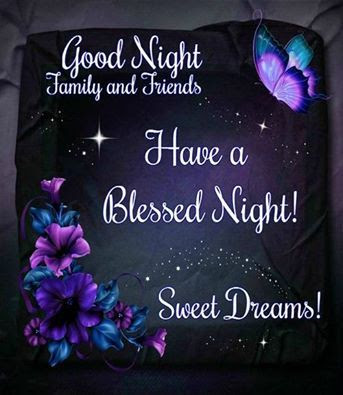 Good Night Family Friends Have A Blessed Night Pictures Photos