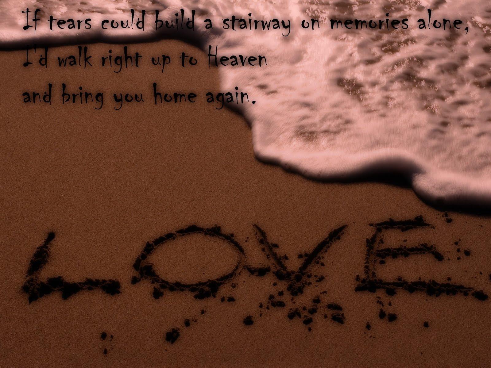 sad love quote wallpaper 8