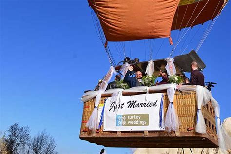 Cappadocia Weddings   Get Married On A Hot Air Balloon