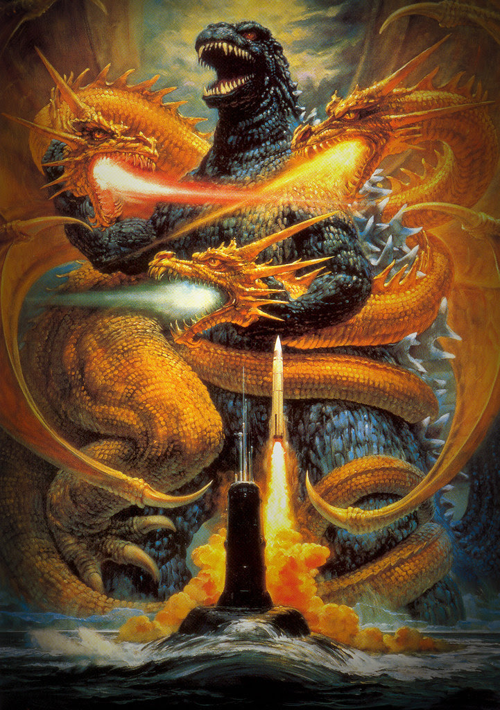 Godzilla vs King Ghidorah (Toho, 1991)