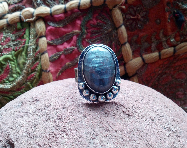 Kyanite Sterling Silver Ring