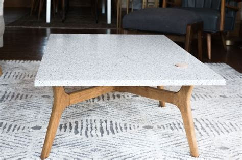 stone coffee table ideas  pinterest