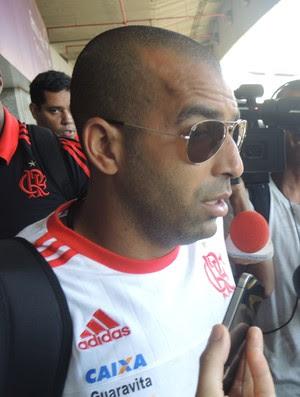 Emerson Sheik Flamengo (Foto: Marcelo Baltar / GloboEsporte.com)