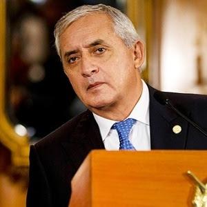 Pérez Molina é acusado de liderar uma rede de corrupção e já tinha sobre ele uma ordem de captura