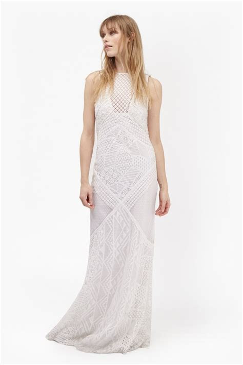 French Connection Rene Lace Maxi Dress (£185)   Affordable