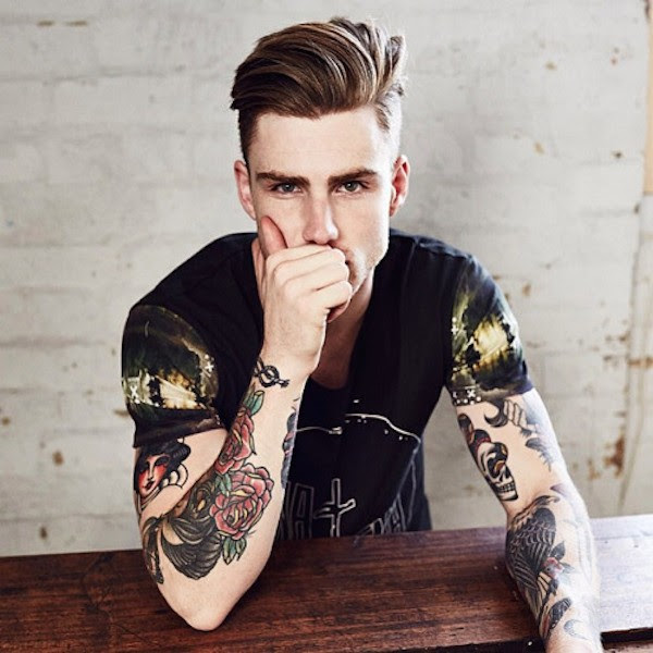 Chicos Tatuados Que Me Hacen Pensar Cosas Malas