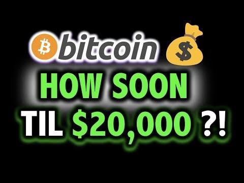 HOW SOON TIL $20,000 BITCOIN?!! 🤯📈 Crypto Bull Analysis TA Today & BTC Cryptocurrency Price News Now