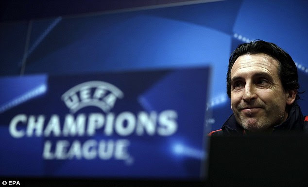 Unai Emery is now hoping to mastermind a famous victory over Barcelona at the Nou Camp