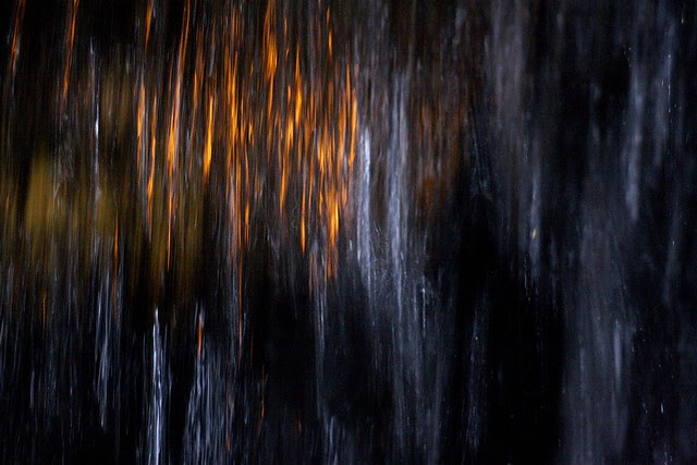 night, keller fountain
