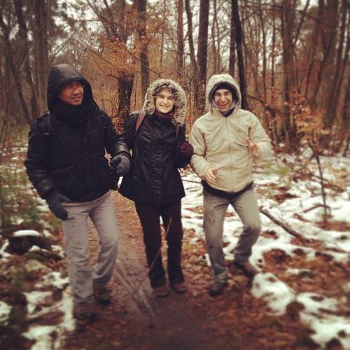 Fabrice Letitia e Reza! Forest day! by la casa a pois
