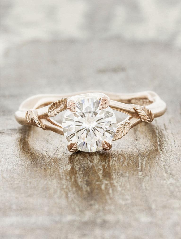 Resultado de imagen para engagement rings nature inspired
