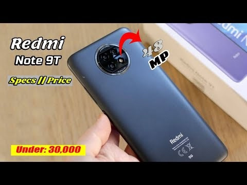 Redmi Note 9T Gaming Budget Smartphone Under 30000 || Specs & Price in Pakistan
