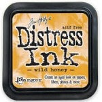 Ranger Distress Ink Pad - Wild Honey