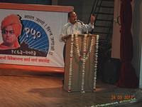 Shri Dipak Chakravarty, MD, NRL inaugurating the NRL Conference Hall at the VKIC