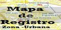 Mapa de Registro Zona Urbana