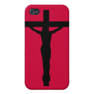 JESUS ON THE CROSS COVERS FOR iPhone 4