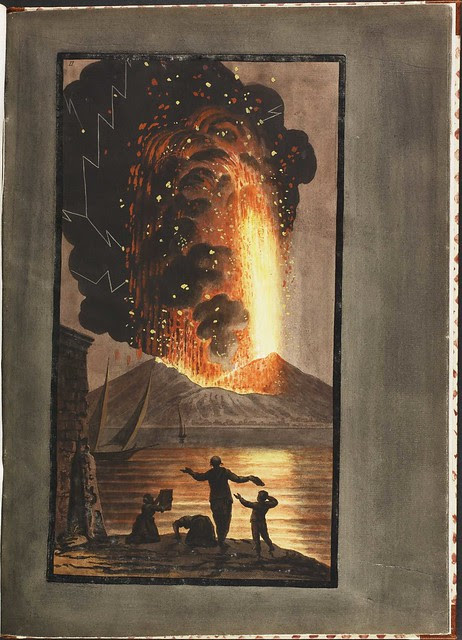 Plate 2, eruption of Mt. Vesuvius, 1779 August 8 (supplement)