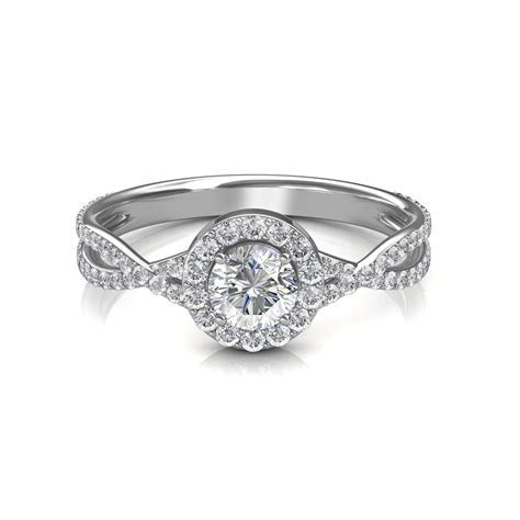 0.64 carat Platinum   Zara Engagement Ring   Engagement