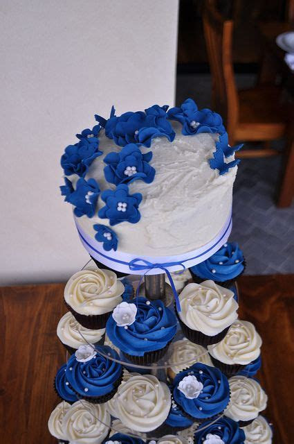 25  Best Ideas about Blue Wedding Cupcakes on Pinterest