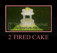 Tired Cake - Wedding Cake