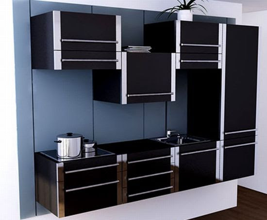 Sliding Kitchen cabinet system maximizing small spaces ...