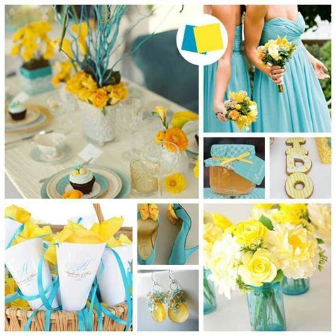 1000  ideas about Teal Yellow Wedding on Pinterest   Teal