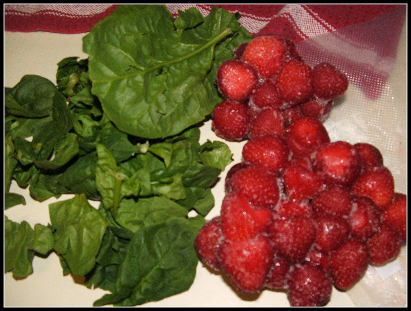 Strawberry Spinach Smoothie by Angie Ouellette-Tower for godsgrowinggarden.com photo 001_zps901345bf.jpg